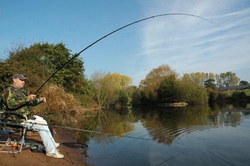 Leisure fishing Stock Photo 09