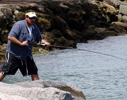 Leisure fishing Stock Photo 12