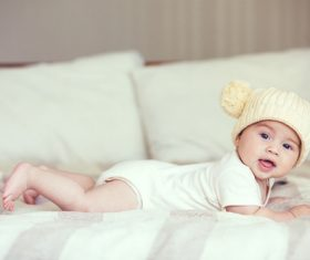 Lively and lovely baby Stock Photo 06