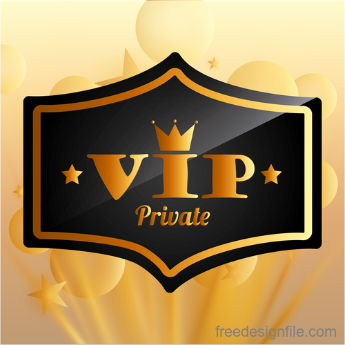 Luxury VIP background design vector 02