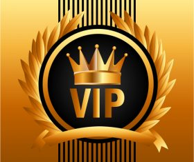 Luxury VIP background design vector 04