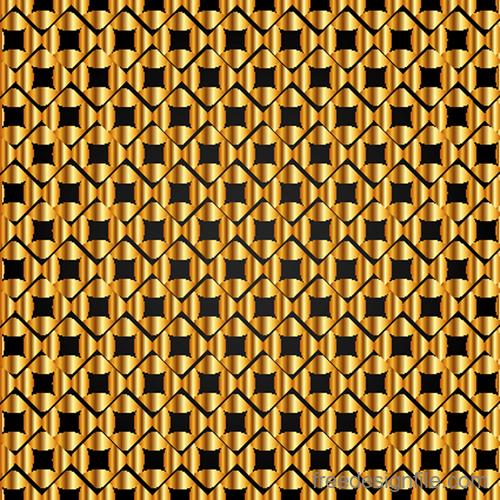 Luxury golden vector seamless pattern vector 05