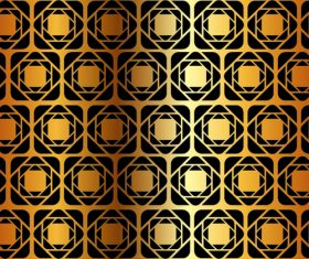 Luxury golden vector seamless pattern vector 06