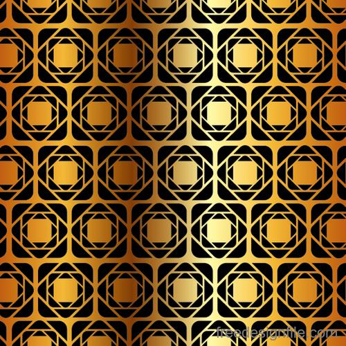 Luxury golden vector seamless pattern vector 06