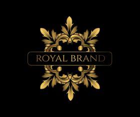Luxury royal logo design vectors 02