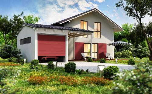Luxury villa with beautiful landscape Stock Photo 01