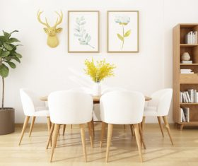 Modern and simple home design Stock Photo 02