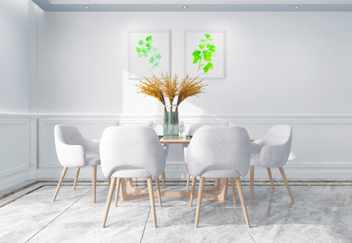 Modern and simple home design Stock Photo 07
