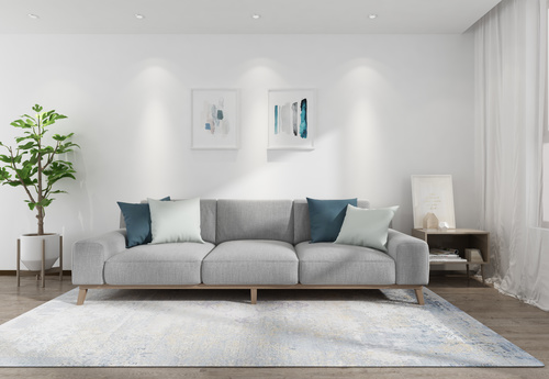 Modern and simple home design Stock Photo 10