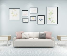 Modern and simple home design Stock Photo 11