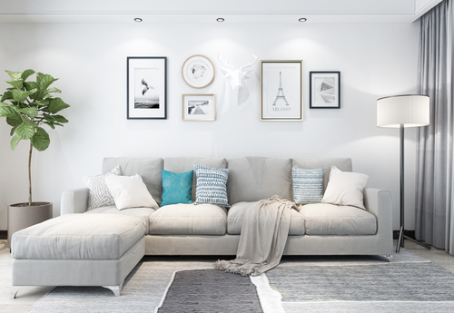 Modern and simple home design Stock Photo 12
