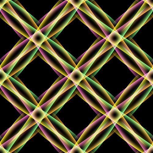 Multicolor overlap concept background vectors 04