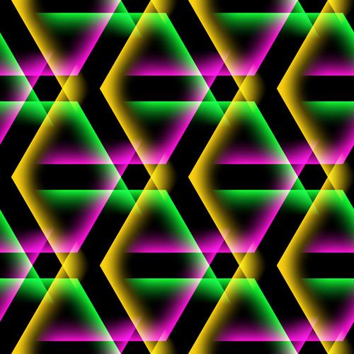 Multicolor overlap concept background vectors 05