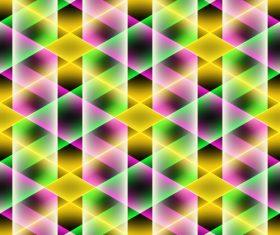 Multicolor overlap concept background vectors 07