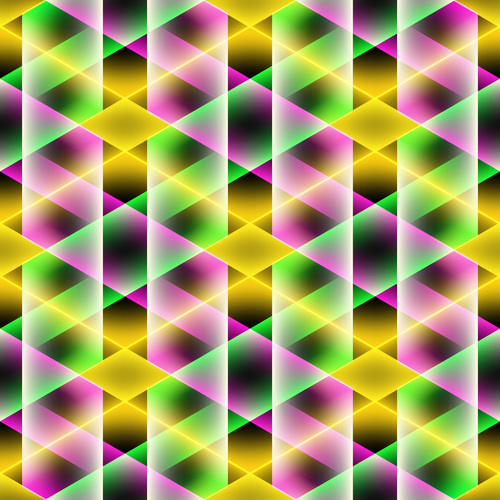 Multicolor overlap concept background vectors 06