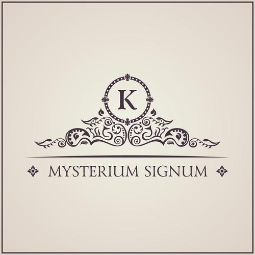 Mysterium signum vector material