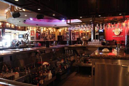 Ornately decorated bar Stock Photo 02
