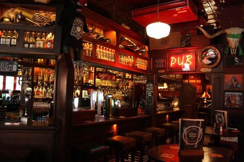 Ornately decorated bar Stock Photo 10
