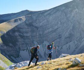 Outdoor mountaineer Stock Photo