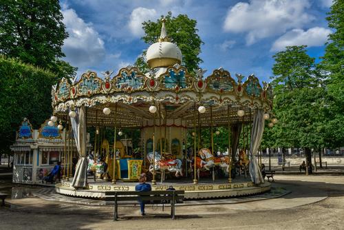 Paris France city landscape Stock Photo 02