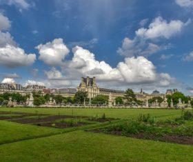 Paris France city landscape Stock Photo 03