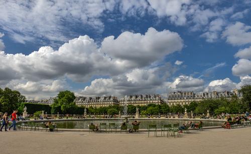 Paris France city landscape Stock Photo 04