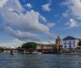 Paris France city landscape Stock Photo 05