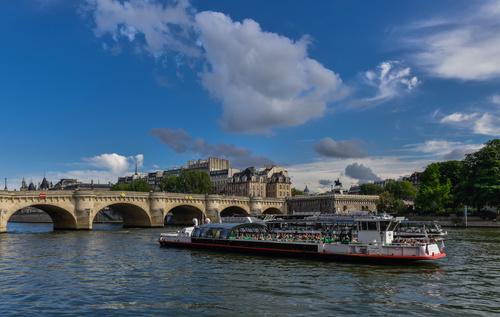 Paris France city landscape Stock Photo 06