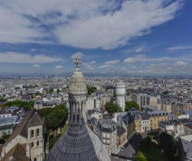 Paris France city landscape Stock Photo 07