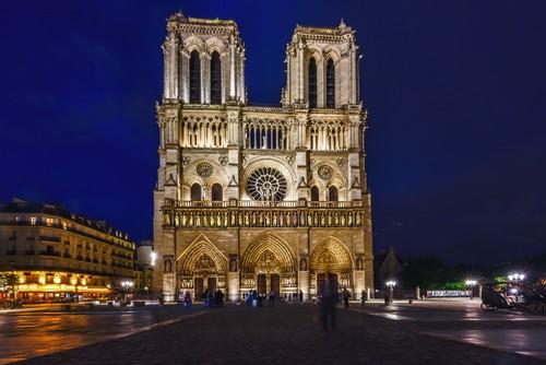 Paris France city landscape Stock Photo 09
