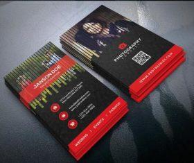 Photographer Business Card PSD Template