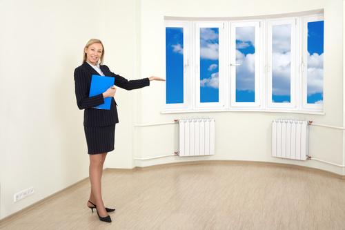 Real estate broker Stock Photo 01