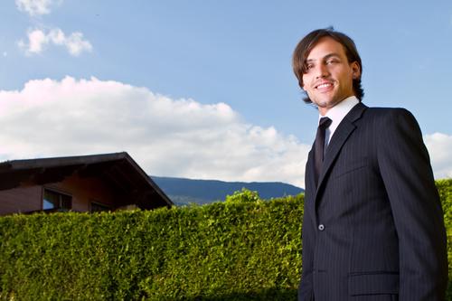 Real estate broker Stock Photo 02