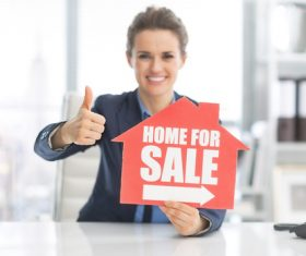 Real estate broker Stock Photo 03