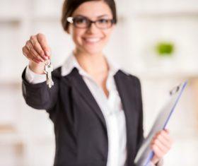 Real estate broker Stock Photo 04