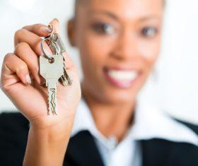 Real estate broker Stock Photo 05