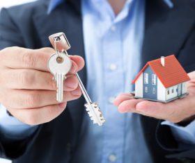 Real estate broker Stock Photo 07