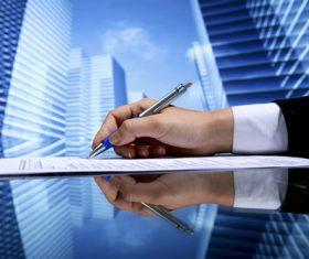 Real estate broker Stock Photo 08
