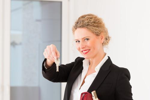 Real estate broker Stock Photo 12