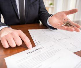 Real estate broker Stock Photo 13