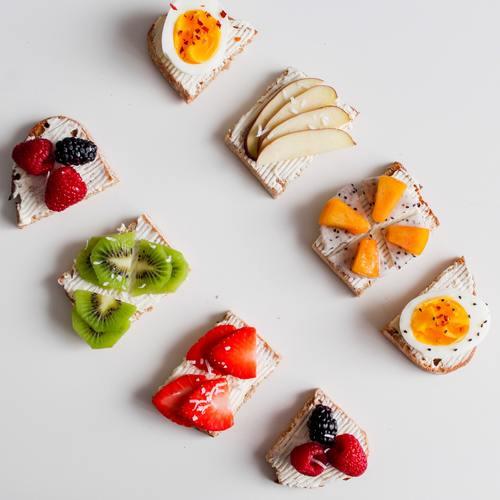 Seductive fruit bread Stock Photo 02