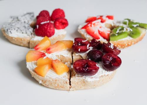 Seductive fruit bread Stock Photo 04