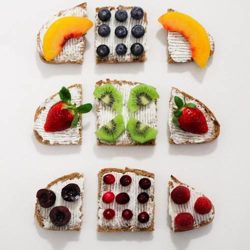 Seductive fruit bread Stock Photo 06