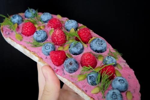Seductive fruit bread Stock Photo 07