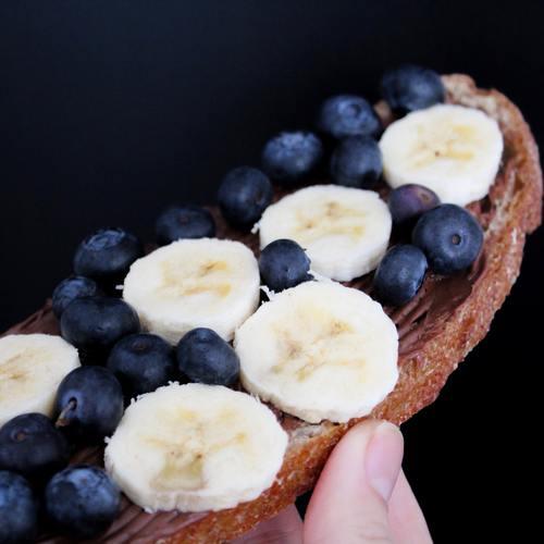 Seductive fruit bread Stock Photo 09