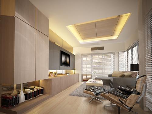 Sketch design of living 3dwire frame render Stock Photo 07
