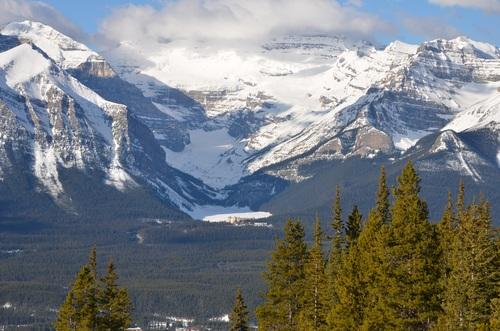 Snow mountain scenery Stock Photo 10