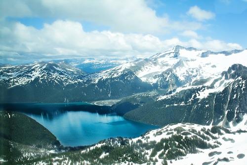 Snow mountain scenery Stock Photo 11