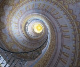 Spiral staircase Stock Photo 02