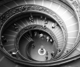 Spiral staircase Stock Photo 03